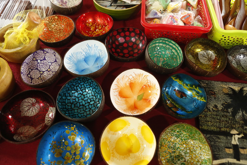 Beautiful hand painted serving bowls