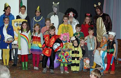 Kindercarnaval 2013 - Playback en prijsuitreiking