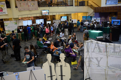 14345 Wright Brothers Day in the Student Union Atrium 10-2-14