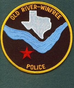 Old River Winfree Police ( Defunct 2010 )