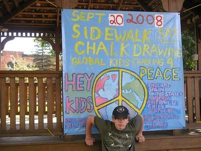 CHALK4PEACE 2008 Juckett Park, Hudson Falls, NY