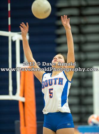 9/9/2013 - Girls Varsity Volleyball - Needham vs Newton South