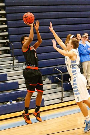 Boys Basketball Yorktown 1/14/14