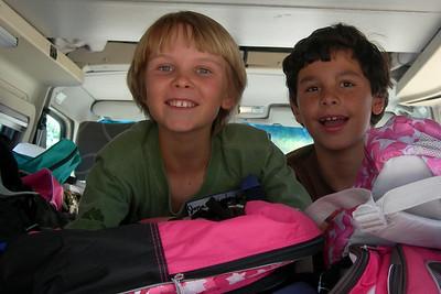 Club 56 Backpack Drive! - August 10, 2008