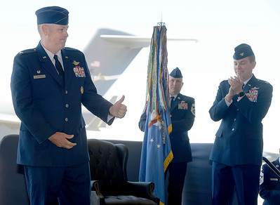 New 60th Air Mobility Wing commander welcomed at Travis Air Force Base