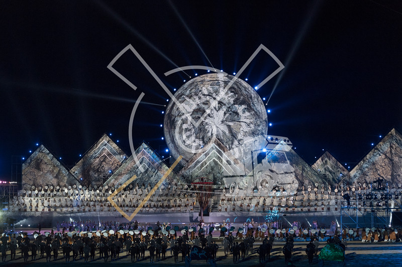 Opening ceremony of the World Nomad Games 2018 in Kyrgyzstan