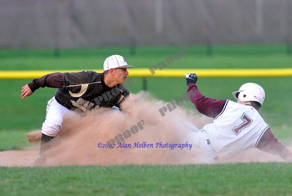 Varsity Baseball - Holt at Okemos - April 28