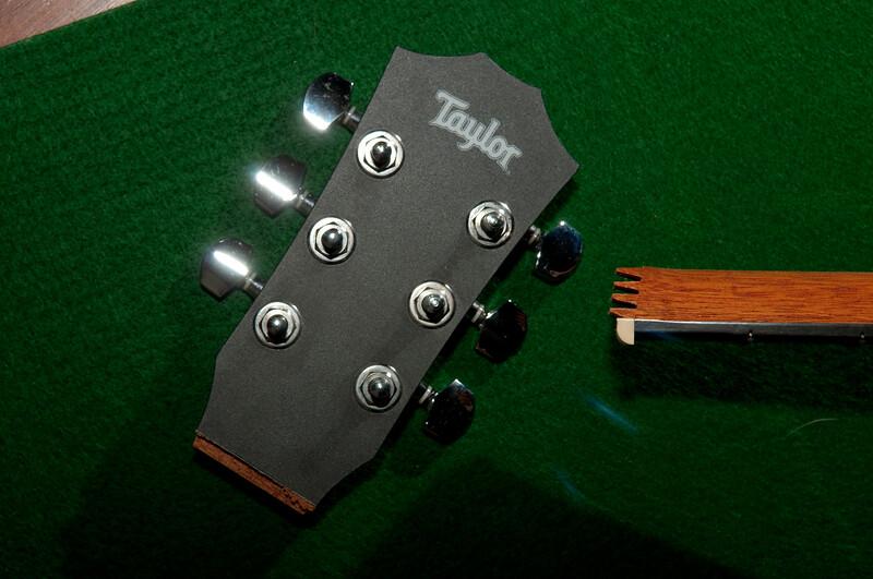 Baby Taylor Guitar Falls Apart