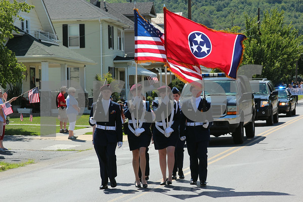 Erwin July 4th Parade - July 2014