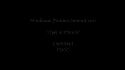 Mindanao Fashion Summit 2011 Videos