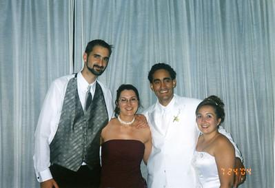 Puerto Rico-Valentín Wedding - July 2004