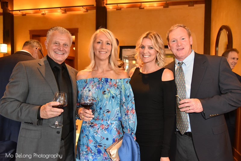 Dominic and Susan Pomila, Wendy Calcaterra and Keith Conroy