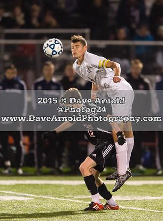 11/11/2015 - Boys Varsity Soccer - MIAA D1 South Semi-Final - Wellesley vs Needham