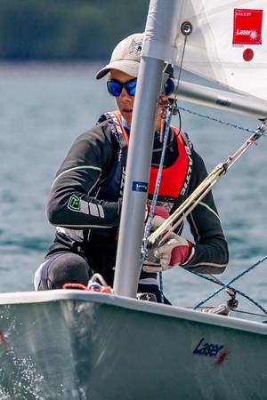 2020 ABYC Seahorse Laser Regatta DAY 2