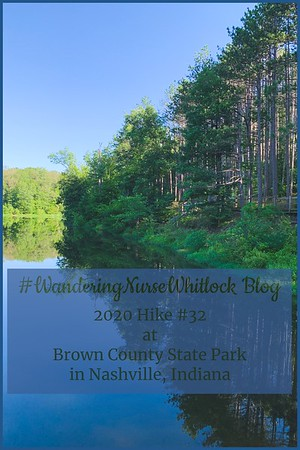 2020 Hike #32 on July 24th at Brown County State Park in Nashville Indiana (Trail 6)