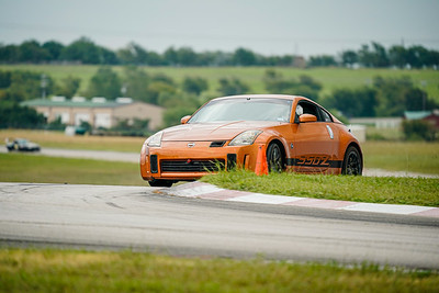 Burnt Orange Nissan 350Z