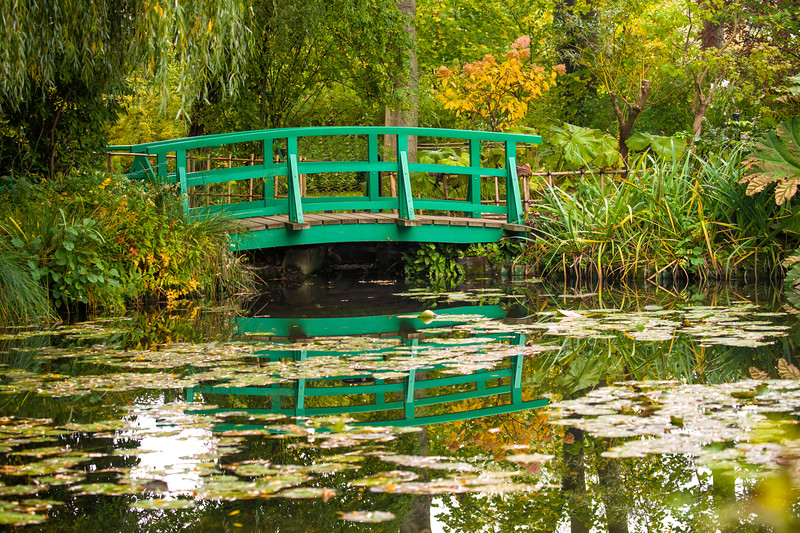 Giverny  in the fall, France