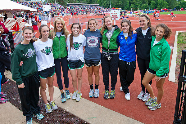 Westfield Girl's Track 2012