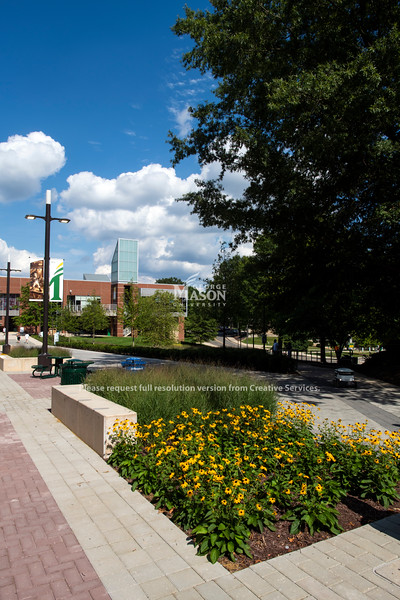 Roger Wilkins Plaza and Southside Hall