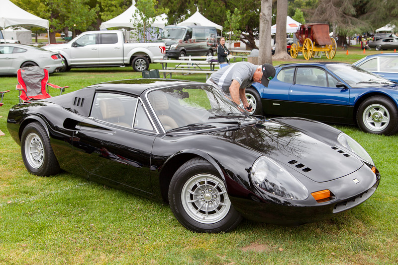 1972 Ferrari 246 GTS Dino owned by John Etchart