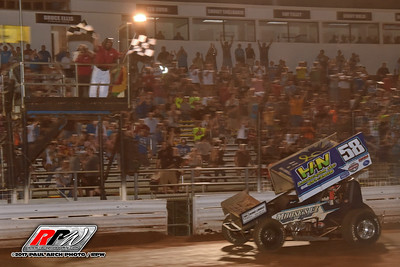 Williams Grove Summer Nationals - Friday - 7/21/17 - Paul Arch