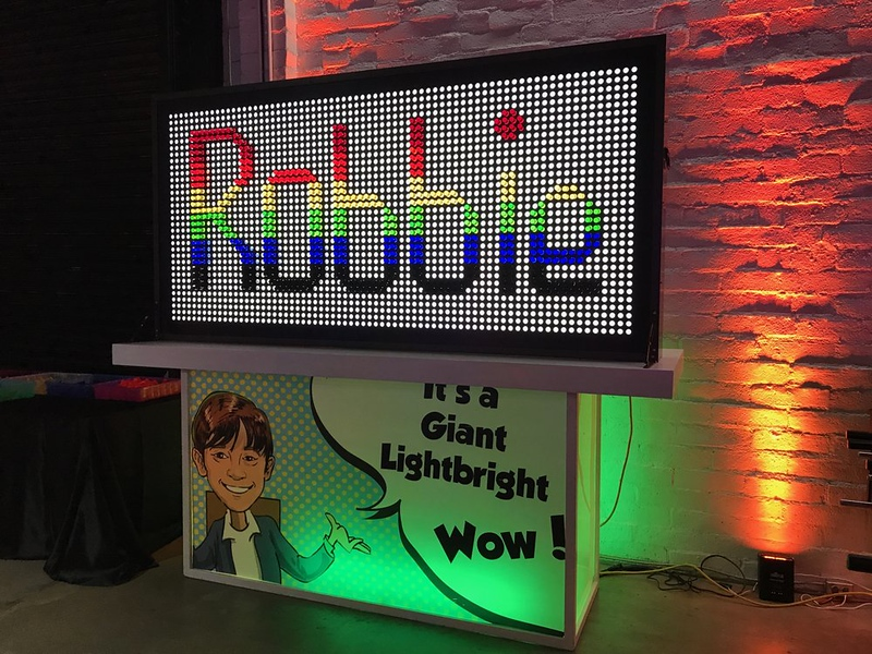CEG Interactive - Pixel Pegs Art Wall. Just like a GIANT Lite Brite! Measures 8ft wide and includes thousands of colored pegs..jpg