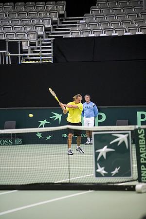 Davis Cup Argentina vs Sweden 2007
