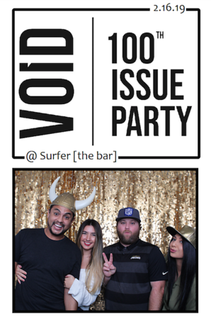 VOID 100th Issue Party @ Surfer [the bar]