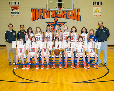 2017 - 2018 North Marshall Middle School 7th & 6th Grade Girls Basketball