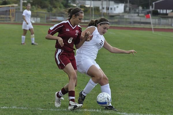 NBHS Lady Lions Soccer vs. Beaver - 9.28.09