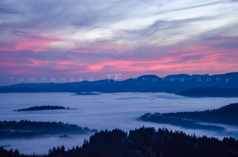 Willamette Valley Sunset