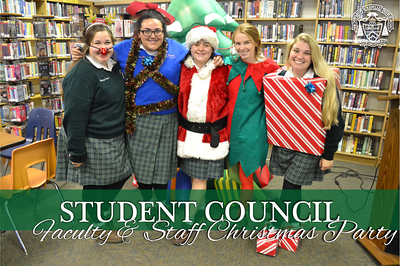 Student Council hosts Christmas Party