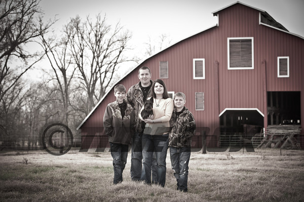 Bryant Family Christmas 2012