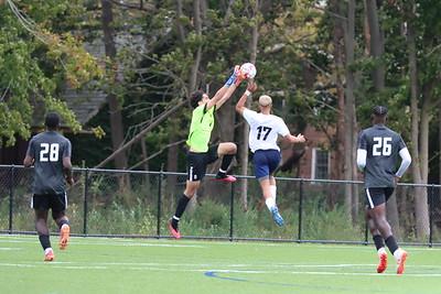 10.16.21 Queens College Men's Soccer vs. Roberts Wesleyan