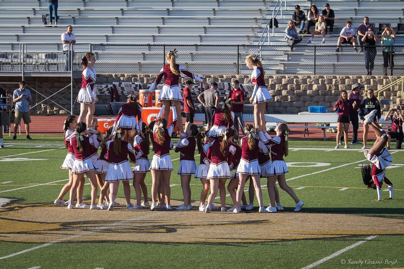 Oak Christian School Cheer Leaders