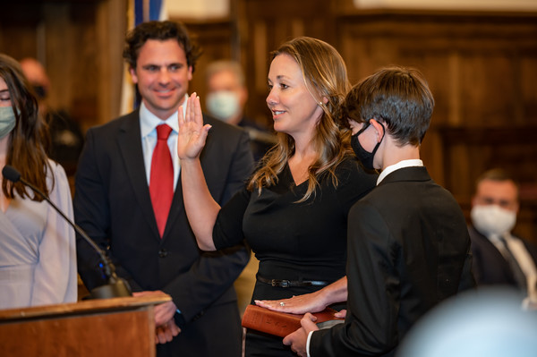Judge Akers Swearing-in Ceremony
