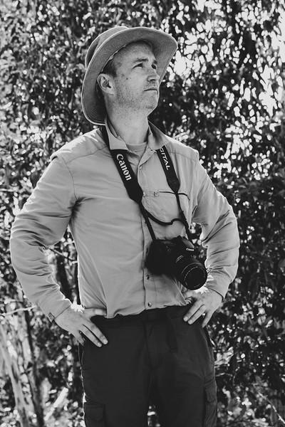 Dale Bradbury, Mountain man