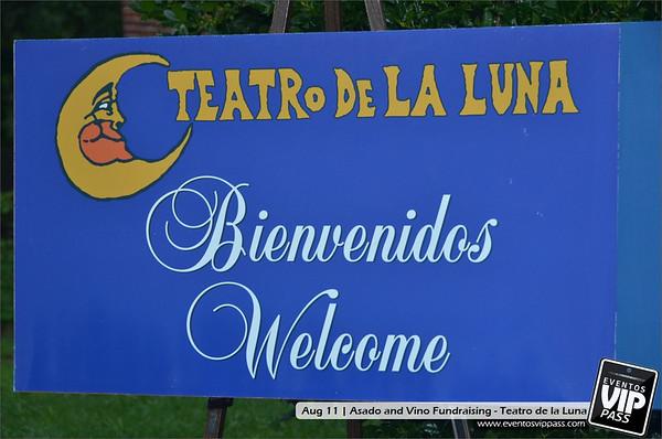 Asado y Vino Fundraising - Teatro de la Luna | Sat, Aug 11
