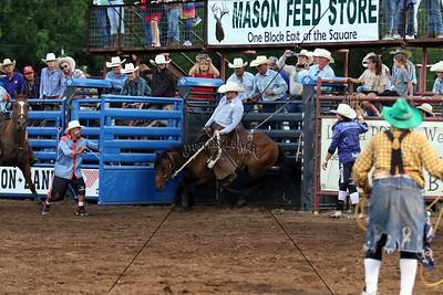 Saturday Ranch Bronc Riding