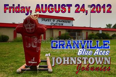 2012 Granville at Johnstown - VARSITY (08-24-12)