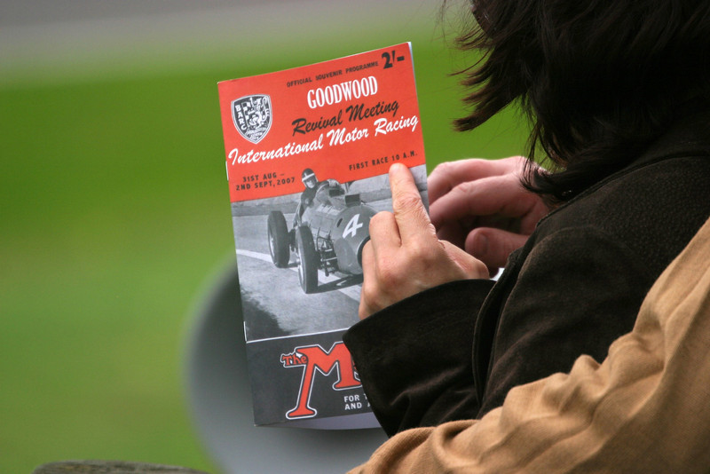 Goodwood Revival 2007 Program cover