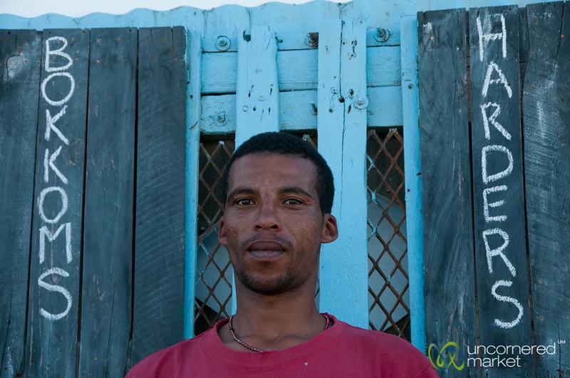 Bokkoms Man of Velddrift - Western Cape, South Africa