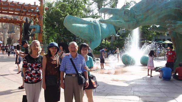 Ah Chek, Ah Sim & Man Man's visit to Singapore ( 29 July - 4 August 2010 )