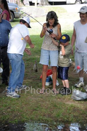Covered Bridge Kids Fishing Day 6-9-2012