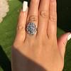 1.75ctw Edwardian Toi et Moi Old European Cut Diamond Ring  52