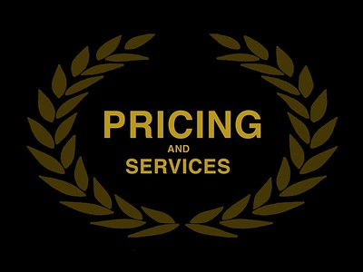 PRICING and SERVICES