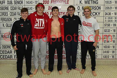 2020 CHS Boys Swimming - IC West