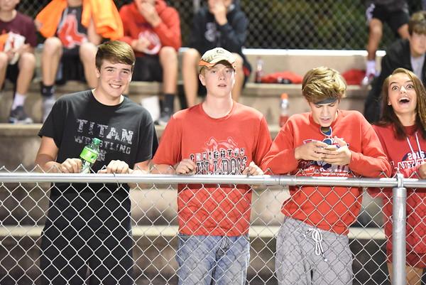 Student Crowd - NE City Fooball game