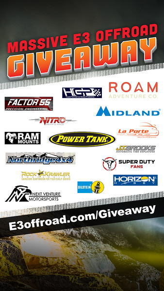 E3offroad GiveAway