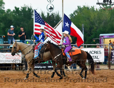2016 Rodeo Grand Entry Sunday 9/4/2016